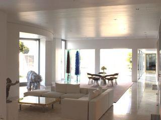homify Online GmbH & Co. KG Modern Living Room Marble White