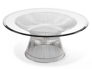 homify Online GmbH & Co. KG Dining roomTables Aluminium/Zinc Transparent