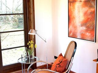 Home Staging Projekt bewohntes Landhaus bei Pinneberg wohnhelden Home Staging Arbeitszimmer im Landhausstil