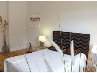 Home Staging ETW Altbau in Hamburg wohnhelden Home Staging Moderne Schlafzimmer