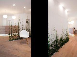 [lu:p] Architektur GmbH Corridor, hallway & stairs