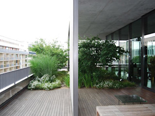 Wohnhaussammlung Boros, Berlin Optigrün international AG Balkon, Veranda & Terrasse