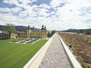 Schloss Velden Optigrün international AG Ausgefallene Häuser