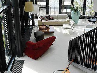 Apartment in der Hafencity Andras Koos Architectural Interior Design Moderne Wohnzimmer