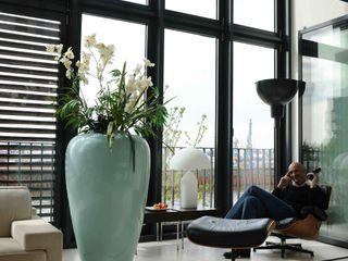 Apartment in der Hafencity Andras Koos Architectural Interior Design Moderne Wände & Böden