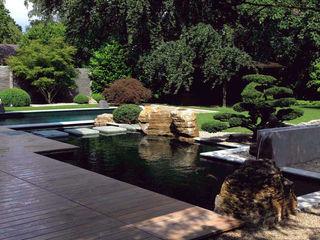 Kompletter Garten in München Kirchner Garten & Teich GmbH Moderner Garten