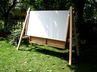 Hollywoodschaukel Pool22.Design GartenMöbel Holz Grau
