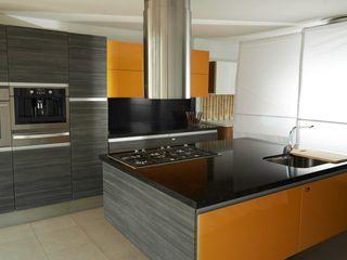 Cocinas con frentes de cristal Aura Cocinas CocinaArmarios y estanterías