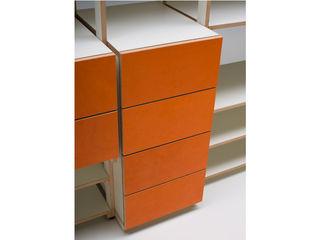 Rohstoff Design Living roomShelves