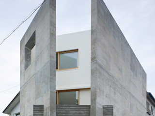 下川原の家(月ノ陽) 小泉設計室 モダンな 家