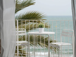 Balcón homify Balcones y terrazas de estilo mediterráneo