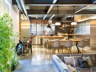 Egue y Seta Rustic style living room