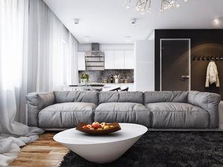 Angelina Alekseeva Living room