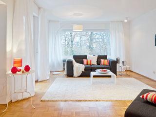 Home Staging Erbimmobilie 70er Jahre raumwerte Home Staging Wohnzimmer