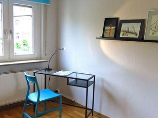 Apartment FR01 Holzer & Friedrich GbR Moderne Wohnzimmer