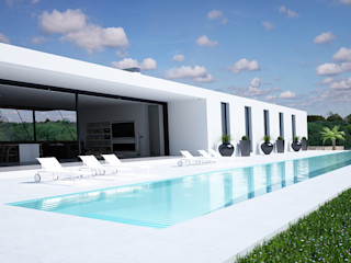 Proyecto de Vivienda Unifamiliar DUE Architecture & Design Casas de estilo moderno