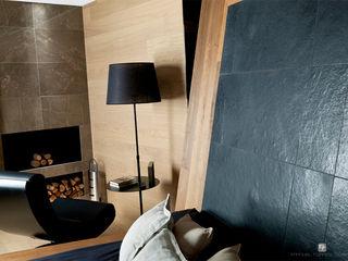 Dormitorio Suite Hotel Material Noble MANUEL TORRES DESIGN Hoteles de estilo ecléctico Acabado en madera