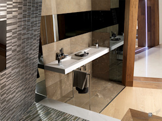 Dormitorio Suite Hotel Material Noble MANUEL TORRES DESIGN BañosLavabos Blanco