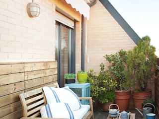 decoraCCion Balcones y terrazas mediterráneos