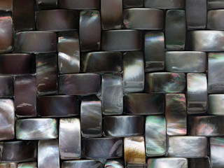 Black Lip Mother of Pearl Tiles ShellShock Designs Walls & flooringTiles