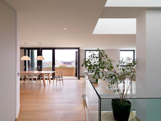 Recupero Sottotetto - Duplex 1 enzoferrara architetti Sala da pranzo moderna
