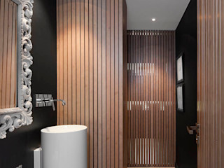 Expresión Transversal Susanna Cots Interior Design Baños de estilo moderno