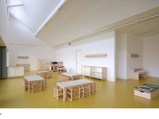 EX SELLERIE intervention Comoglio Architetti Minimalist corridor, hallway & stairs