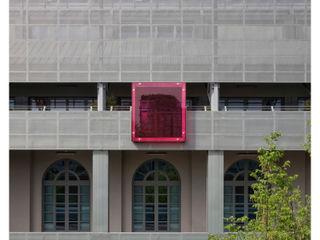 EX SELLERIE intervention Comoglio Architetti Industrial style balcony, veranda & terrace