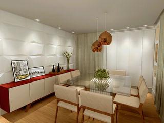 Konverto Interiores + Arquitetura Comedores de estilo moderno