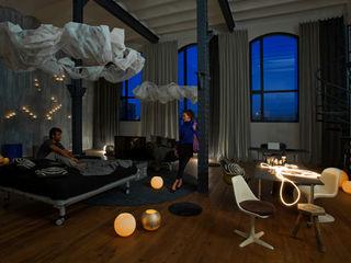 Loft Sucre BARASONA Diseño y Comunicacion Estudios y despachos de estilo industrial