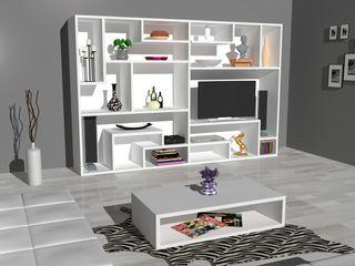 Piwko-Bespoke Fitted Furniture 客廳電視櫃