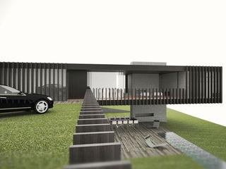 casa nera fabio ferrini architetto