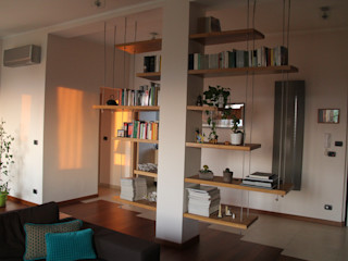 enrico massaro architetto Salones de estilo moderno