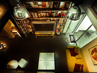 Pablo Echávarri Arquitectura ห้องนั่งเล่น