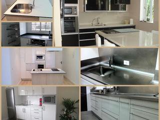 Reforma de cocinas Tatiana Doria, Diseño de interiores CocinaMesas, sillas y bancos