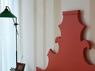 Interior design - Sea House - Jesolo Venezia Italy IMAGO DESIGN Camera da lettoLetti e testate