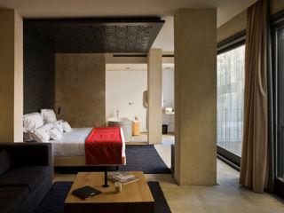 Hotel EME in Seville, Spain Donaire Arquitectos Camera da letto eclettica