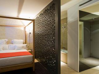 Hotel EME in Seville, Spain Donaire Arquitectos ห้องนอน