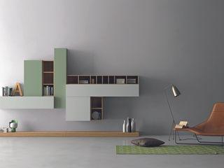 Industrial design - Dall'Agnese - Zona giorno Slim IMAGO DESIGN SoggiornoScaffali