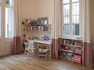 Appartement Luxembourg FELD Architecture Chambre d'enfant moderne