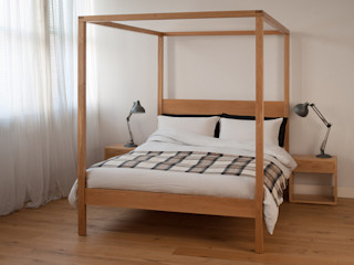Orchid Four Poster Natural Bed Company BedroomBeds & headboards