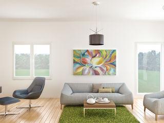 alba najera 现代客厅設計點子、靈感 & 圖片