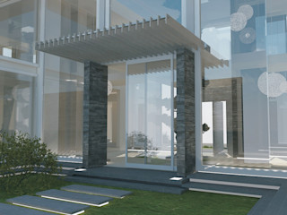 Private Residence in New Delhi Barbara Pizzi Modern houses