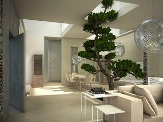 Private Residence in New Delhi Barbara Pizzi Modern living room