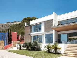 Casa en Andratx Octavio Mestre Arquitectos Casas de estilo minimalista