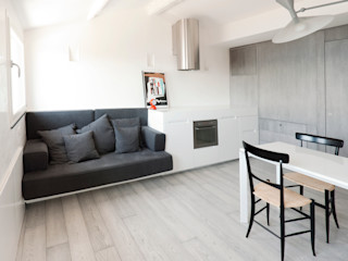 Attico sul Porto gosplan architects Cucina moderna