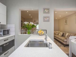 Kitchen/dining - Canary Wharf Millennium Interior Designers Кухня