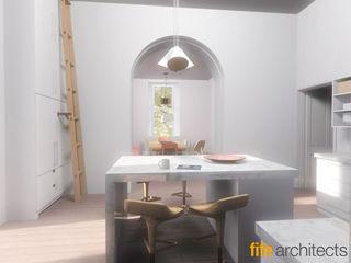 Farmhouse Renovation Fife Architects Living room