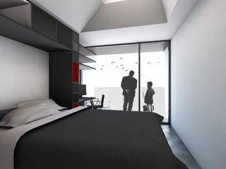 Q:NØ Arquitectos Mediterranean style bedroom