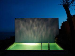 Paul Franceschi Hồ bơi phong cách hiện đại